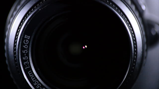 SLR Camera Focus Focusing and Shooting video