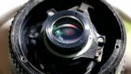 camera lens detail macro video