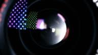 Camera Lens Iris Adjusting video