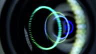 Camera Lens reflection video