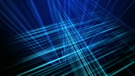 Camera Move Through Three Dimensional Animated Grid video