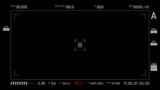 Camera Viewfinder | 4K video