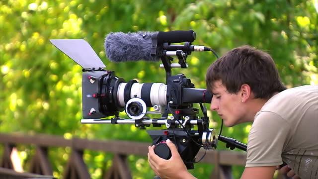 cameraman is shooting video video