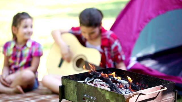 Campfire video