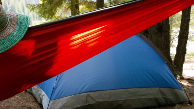 Camping Ground in forest video