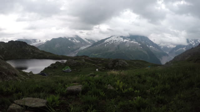 Camping in the Alps video