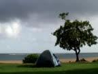 Camping in Wind video