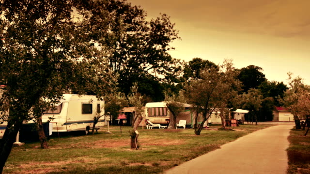 HD: Camping With Caravans And Trailers video