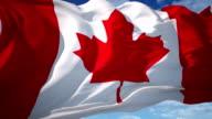 Canada Flag video