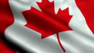 Canada National Flag video