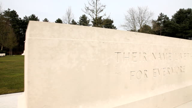 Canadian War Cemetery-Memorial Monument and cemetery video