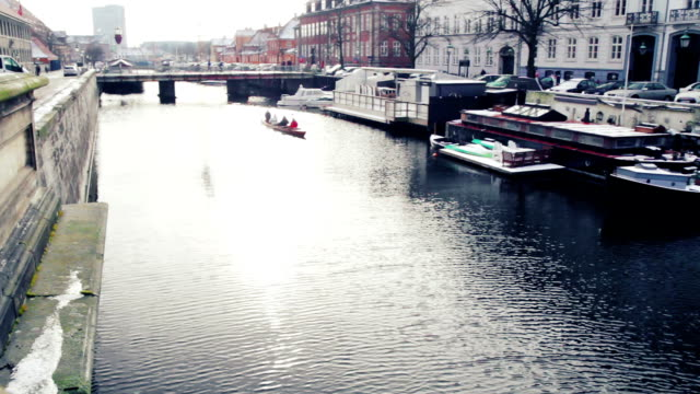 Canal sailing in Copenhagen video