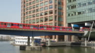 Canary Wharf DLR Train Station video