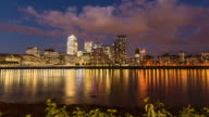Canary Wharf in London, timelapse (4K) video