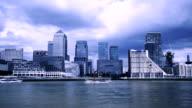 Canary Wharf - London, toned video