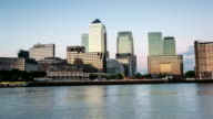Canary Wharf Time Lapse video