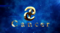 Cancer (Zodiac Air Sign) | Loopable video
