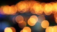 Candle Background, Orange Blurred Defocused video