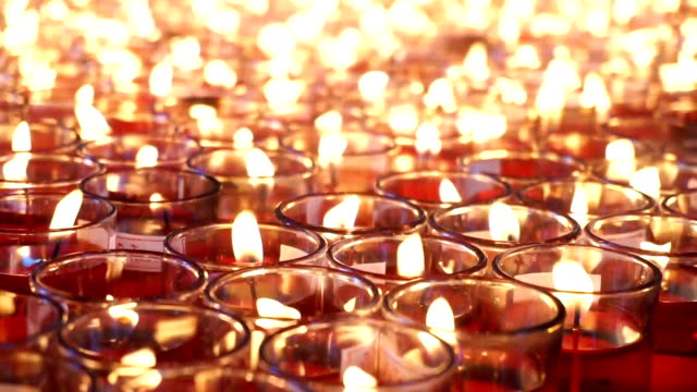Candle light video