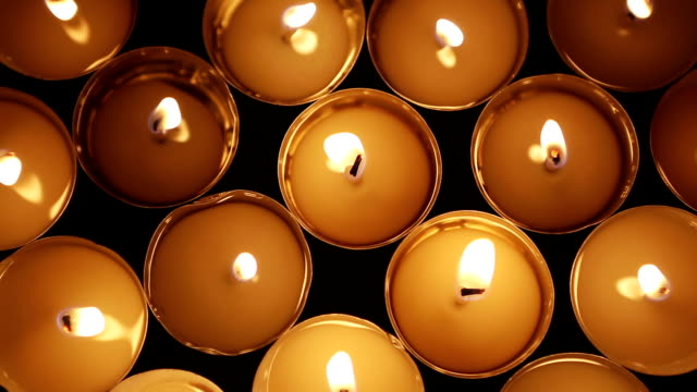 Candle lights video