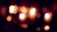 candlelight bokeh video