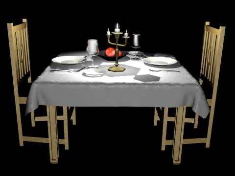 Candlelight Dinner NTSC (Loop Alpha) video