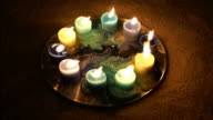 Candles Burn And Deplete video