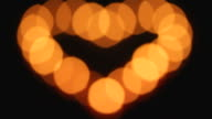 candles heart in blackness video