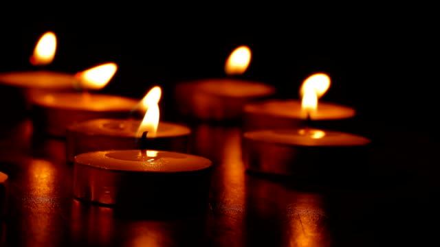 candles romance video