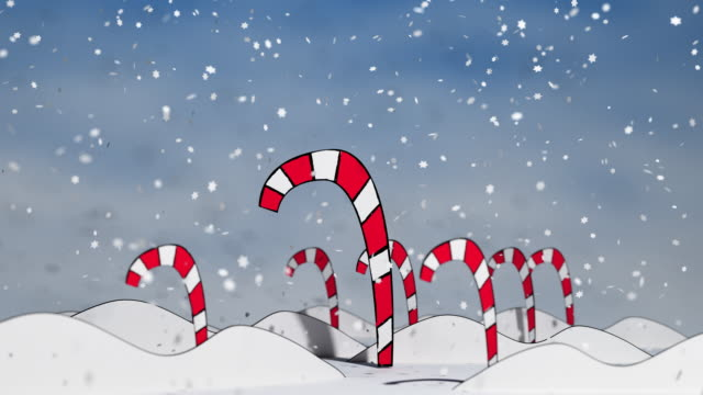 Candy Canes in a Winter Wonderland - FULL video