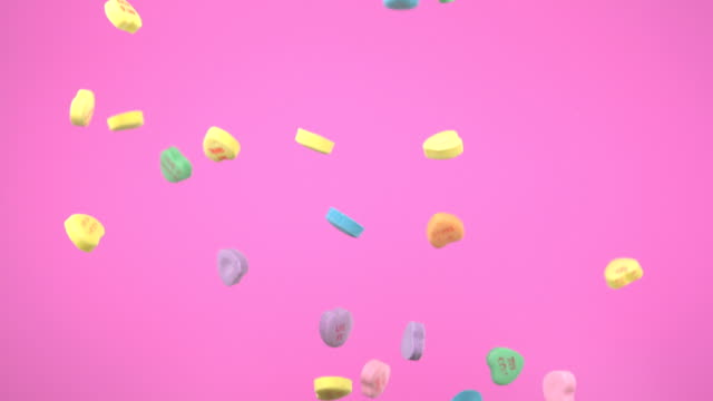 Candy heart, Slow Motion video