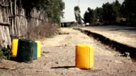 Canister for water near road video