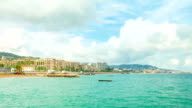 Cannes, panoramic time-lapse video