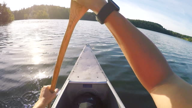 Canoeing in Sweden Point of View video