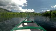 Canoeing video