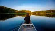 Canoeing POV video