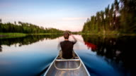 TIME LAPSE: Canoeing video