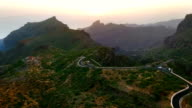 Canyon Masca. Canary Islands. Atlantic  Ocean video