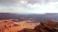 Canyonland storm time lapse 4K video