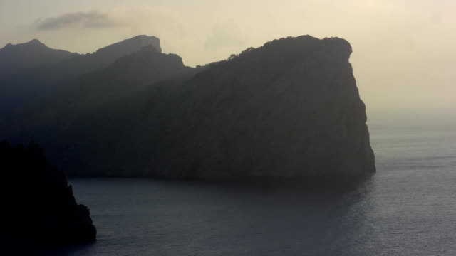 Cap Formentor Mallorca Spain amazing view, FullHD ultra high definition video