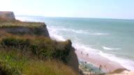 Cap Gris Nez beach France video