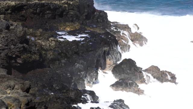 Cap Malizé dit Église Requins - Reunion Island video