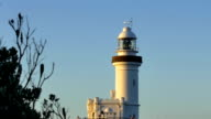 Cape Byron lighthouse in Byron Bay, Australia video