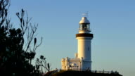 Cape Byron lighthouse in Byron Bay, Australia video
