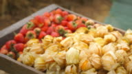 Cape Gooseberry and Strawberries video