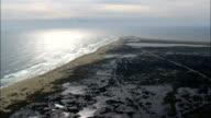 Cape Hatteras  - Aerial View - North Carolina,  Dare County,  United States video
