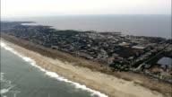 Cape Hatteras National Seashore - Aerial View - North Carolina,  Dare County,  United States video
