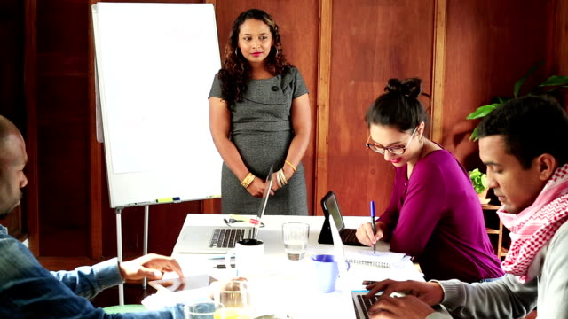 Cape Malay business woman leads creative teamteam video