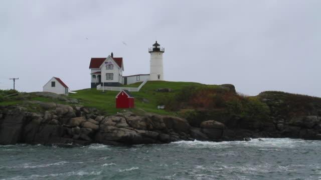 Cape Neddick ('Nubble') Lighthouse video