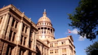 Capital Building Austin Texas Government Building Blue Skies video